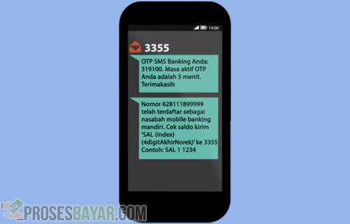 Transfer Mandiri ke BRI lewat SMS Banking