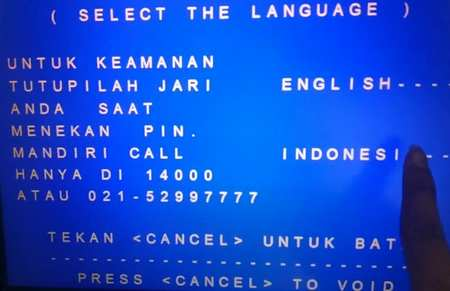 1 Pilih Bahasa Indonesia