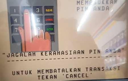 1. Masukan PIN