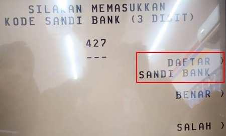 6. Daftar Kode Bank