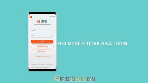 BNI Mobile Tidak Bisa Login
