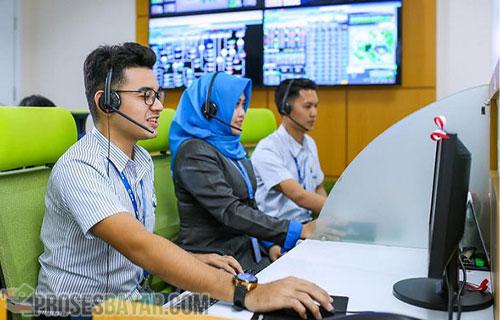 Lewat Layanan Call Center