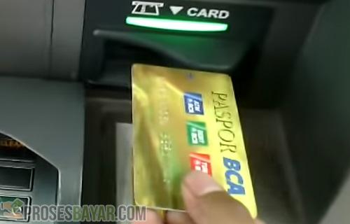 Posisi Benar Kartu ATM BCA