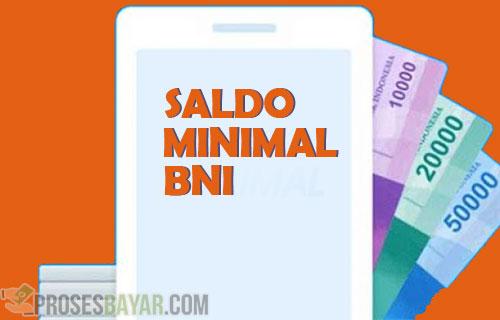 Saldo Minimal BNI Semua Jenis Rekening ATM