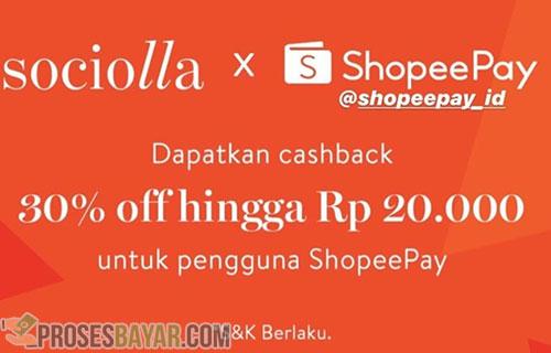 Kode Promo Cashback Sociolla Shopeepay