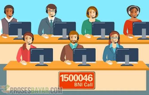 Lewat Call Center BNI