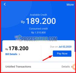 2 PIlih Pay Now