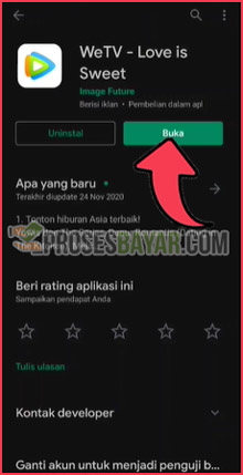 1 Download dan Instal WeTV