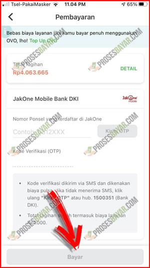 Klik Bayar Untuk Menyelesaikan Pembayaran