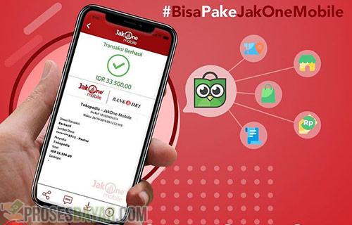 Syarat Bayar Tokopedia Pakai JakOne Mobile