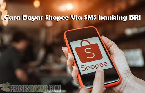 Syarat Biaya dan Cara Bayar Shopee Via SMS Banking BRI