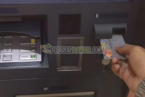 1 Masukan Kartu ATM BNI