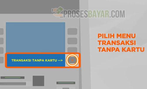 8 Pilih Menu Transaksi Tanpa Kartu