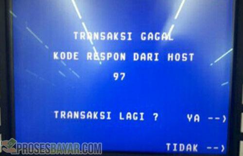 Jaringan ATM BRI Error