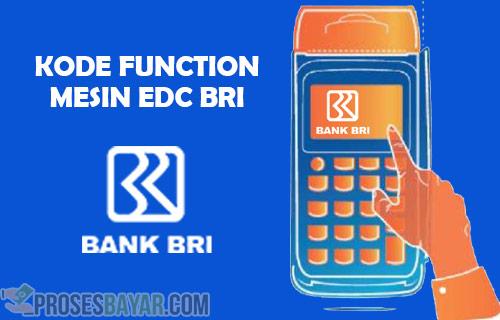 Kode Function Mesin EDC BRI Terlengkap