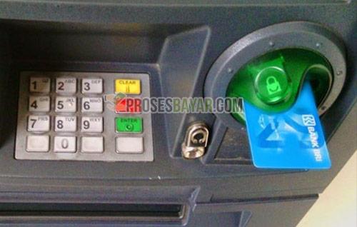 Masukan Kartu ATM BRI