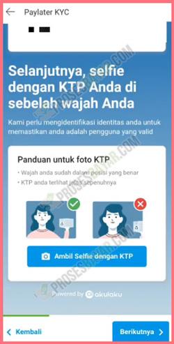 Selfie dengan KTP