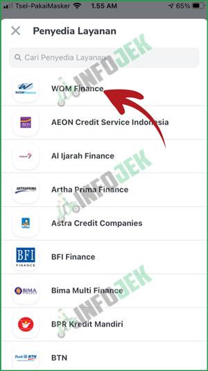 4 Pilih Wom Finance