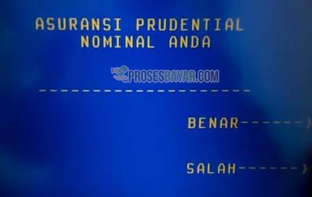8 Masukan Nominal Asuransi Prudential