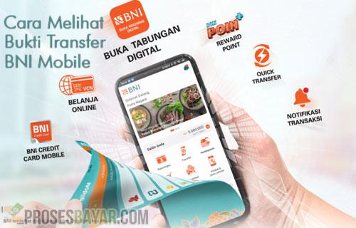 Cara Melihat Bukti Transfer BNI Mobile