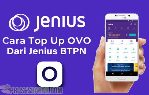Cara Top Up OVO dari Jenius