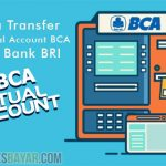 Cara Transfer ke Virtual Account BCA dari Bank BRI