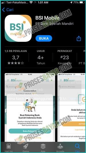 Download dan Instal Aplikasi BSI Mobile