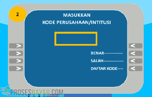 Kode Bayar Prudential via ATM BCA