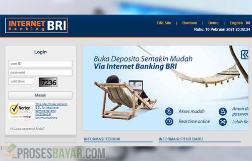 Menggunakan Internet Banking BRI