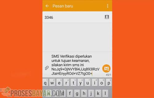 Pastikan Format SMS Tidak Diubah
