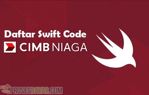 Swift Code CIMB Niaga Terbaru dan Terlengkap