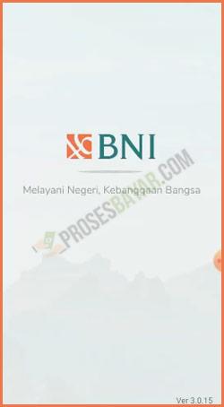 1 Buka Aplikasi BNI Mobile Banking