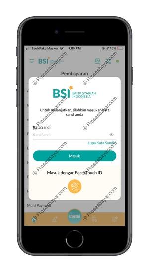 4 Masukkan Kata Sandi BSI Mobile
