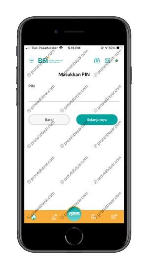 8 Masukan PIN BSI Mobile 1