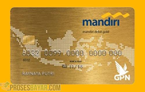 ATM Mandiri Gold