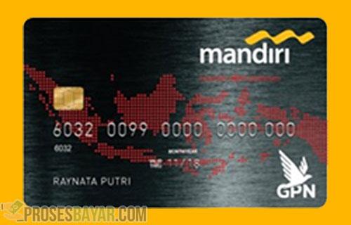ATM Mandiri Platinum