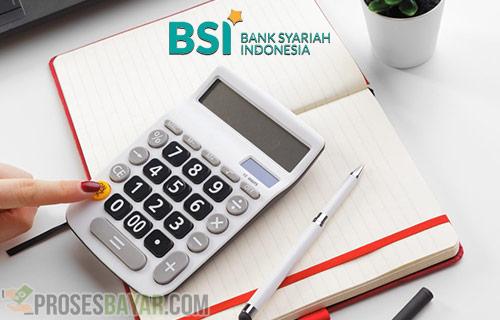 Biaya Admin Beli Token Listrik di BSI Mobile