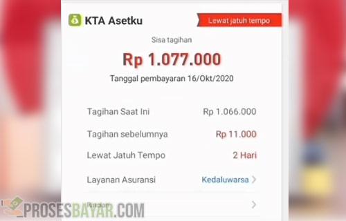 Denda Akulaku Perhari 2021 Pinjaman KTA Asetku