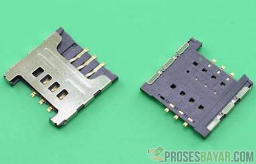 Memperbaiki Konektor SIM Card