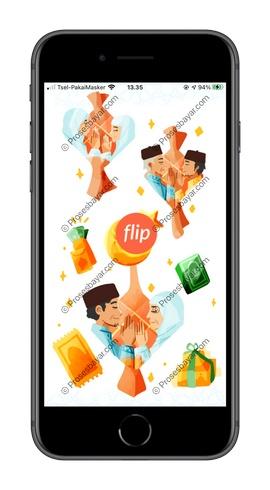 1 Buka dan Masuk Aplikasi Flip