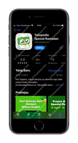 1 Pastikan Aplikasi Sudah Update
