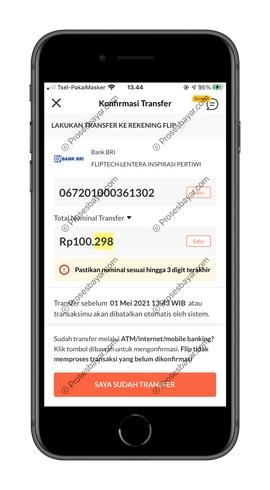 5 Dapatkan Kode Pembayaran