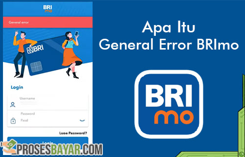 Arti General Error BRImo