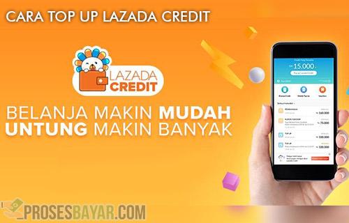 Cara Top Up Lazada Credit Lewat ATM dan Mobile Banking