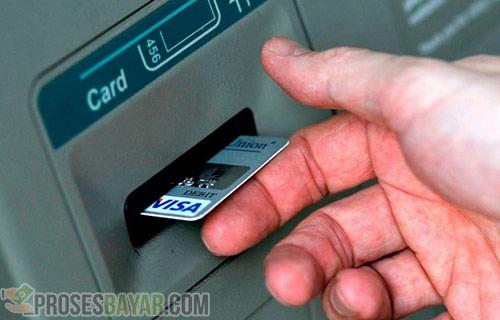 Kartu ATM Langsung Keluar