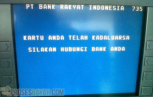 Penyebab ATM Tidak Aktif