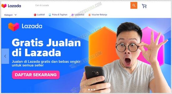 1 Buka Website Lazada