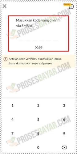 12 Masukan Kode OTP