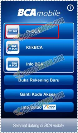 2 Pilih Layanan m BCA