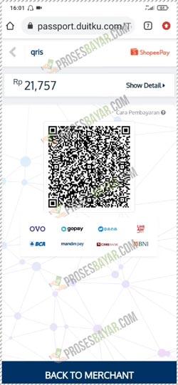 8 Screenshoot QR Code